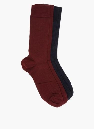 George Hogg 2'li Çorap Lacivert